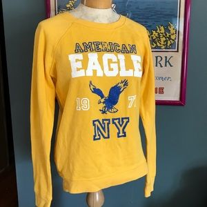 Yellow AE crewneck